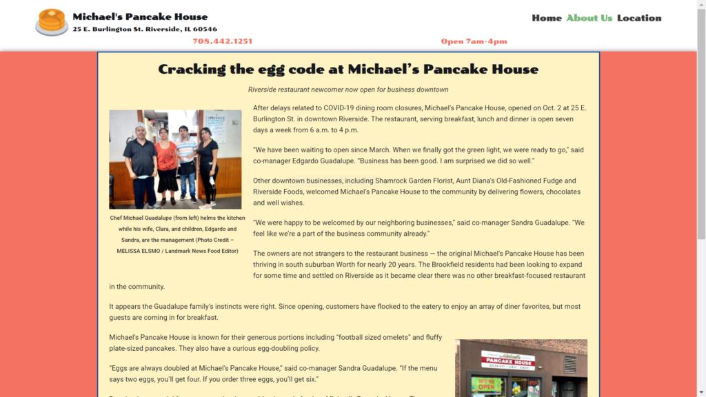 Michael's Pancake House