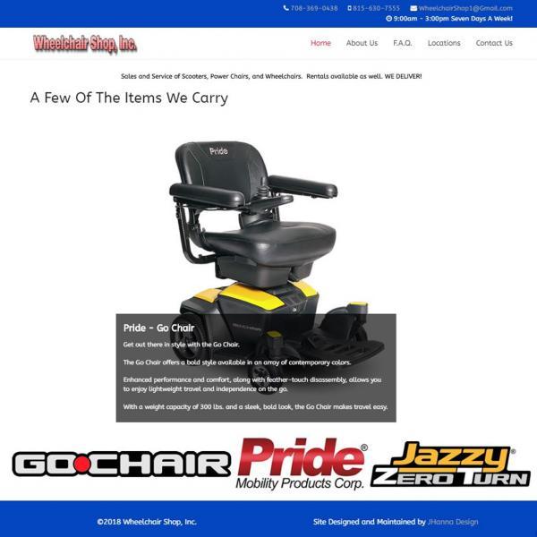 Wheelchair Shop, Inc.
